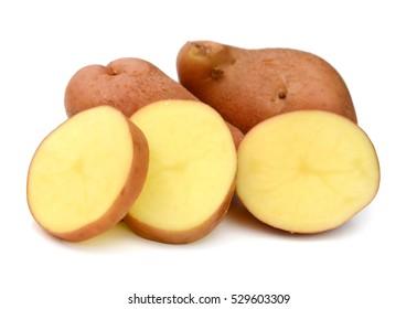 potato isolated over white