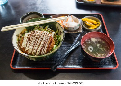 Potato Korokke japan lunch set
