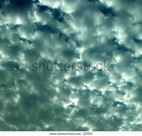 potato like clouds