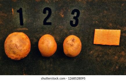 potato numbers asphalt