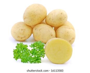 potato and parsley