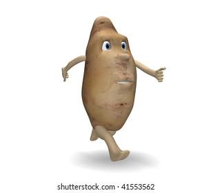 potato runs