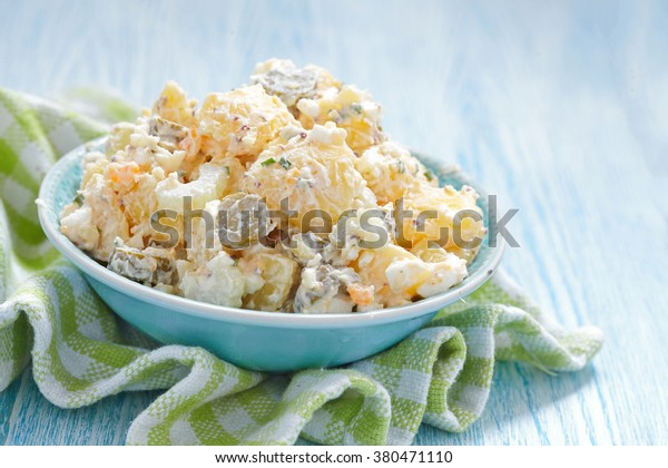 Potato Salad With Sour Cream And Pickles