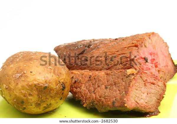 potato & steak