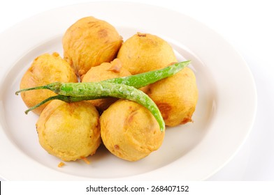 Potato vada - the hot indian snack,vada, Indian Dish