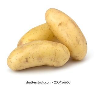 Potatoe isolated on white background