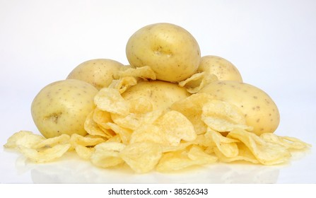 potatoes and chips