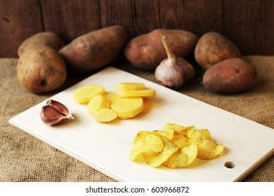 Potatoes and garlic