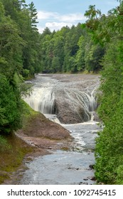 Potawatomi Falls is a scenic waterfall on the Black River Scenic Byway near the city of Bessemer in the Upper Peninsula of Michigan