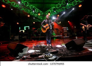 Potchefstroom, North West South Africa 02 01 2018 Prime Circle performing live at rock show Ross lead vocalist