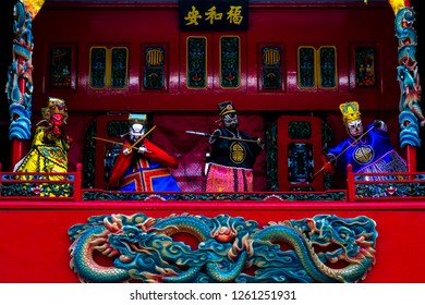 The Potehi puppet is a typical Chinese puppet (from China) that still survives in Indonesia.