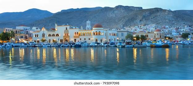 Pothia,Kalymnos Island, Greece