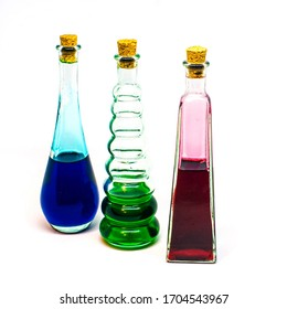 Potion Bottles with Different Colors
