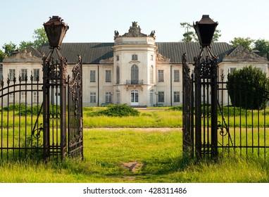 Potocki palace in Radzyn-Podlaski, Poland