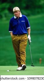 Potomac. Maryland, USA, May 28, 1992John Daly plays during the Kemper Open at the TPC at Avenel in Potomac Maryland.