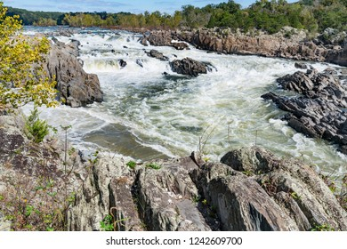 Potomac River along Great Falls National Park, Virginia