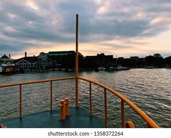 Potomac River Boat