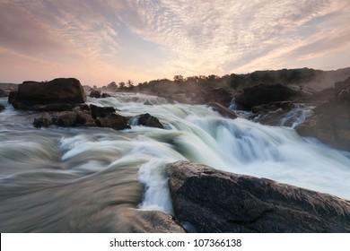 Potomac River Gorge at Great Falls in Washington DC Metro Area