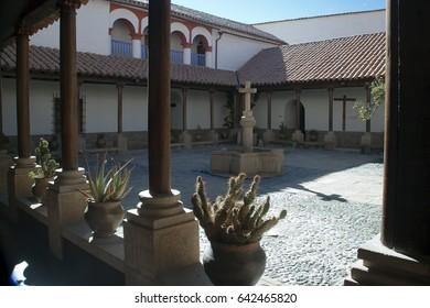 Potosi Bolivia, courtyard