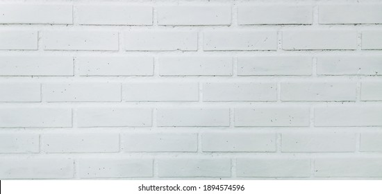 Potrait of the Wall of White Bricks. Can be used as 2d and 3d Background Texture.
