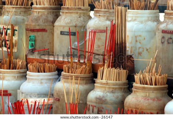 Pots of incense
