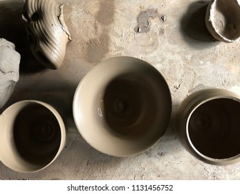 Pots we've made at Sagada, Mt. Province, Philippines