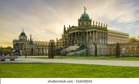 Potsdam, Germany-November 2014:Park Sanssouci, Potsdam, Germany
