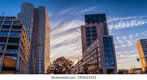 Potsdamer Platz in Berlin at night - Shutterstock ID 1905611923