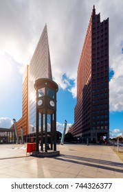 The Potsdamer Platz is one of the main tourist attractions in Berlin