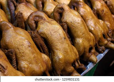 The pot-stewed duck are in Available in stores.