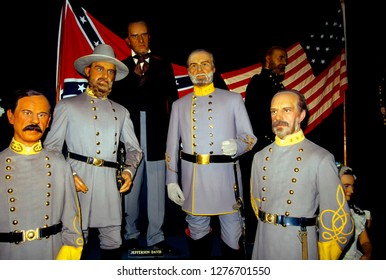 Potter's Wax Museum, St Augustine, Florida, USA, Confederate soldiers, October 7, 2000