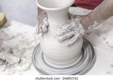 Pottery, ceramic, pottery making, handcraft,