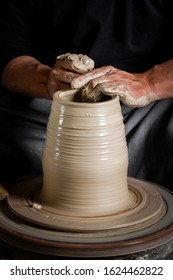 Pottery making. National pottery. Environmentally friendly ceramic dishes