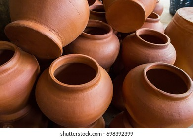 pottery objects
