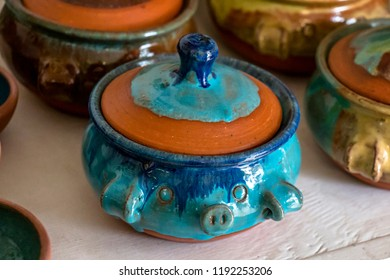 Pottery in Pomaire, Chile