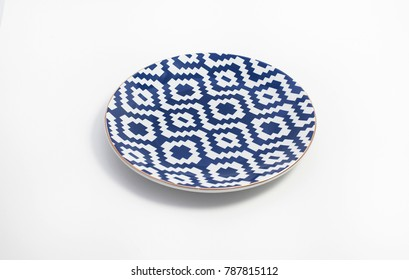 pottery porcelain isolated on white background.