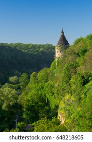 The Pottery Tower of Kamyanets-Podilskiy fortification, Ukraine.