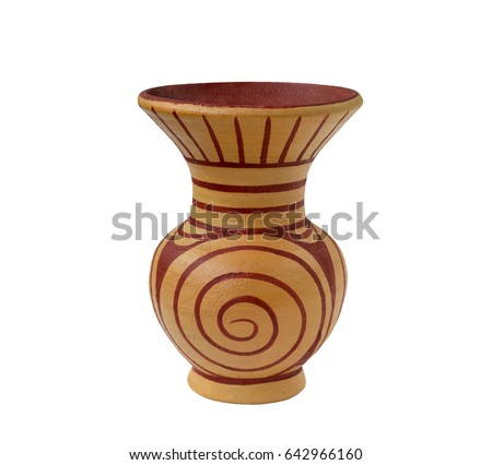 Pottery Vases Ban Chiang Ancient Vasestyle Stock Photo Edit Now