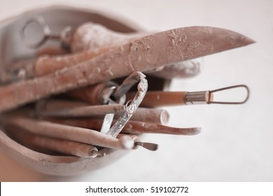 Pottery working tools
