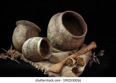 pottery of the Yamnaya culture of the Bronze Age