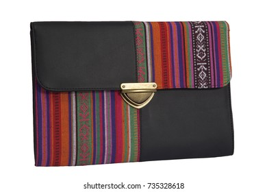 Pouch, handbag, clutch isolated on a white background
