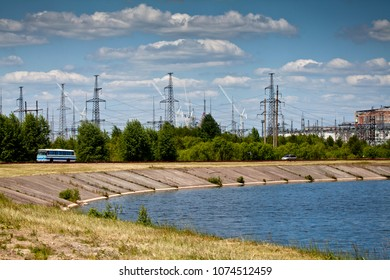 The pound of Chernobyl nuclear power plant