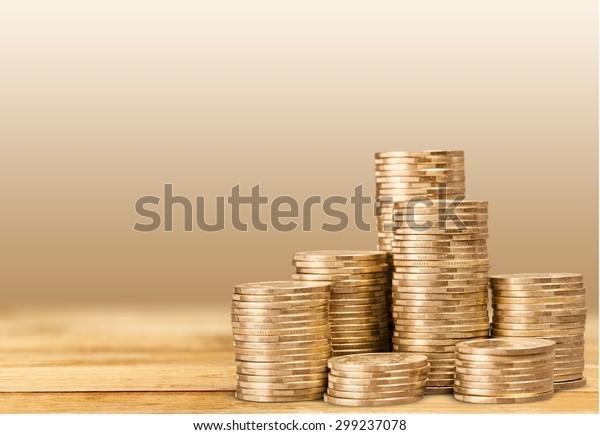 Pound, money, coins.