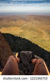POV overlooking the Karoo National Park landscape
