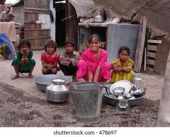 poverty amongst children