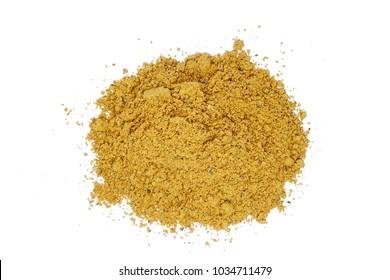powder guarana spice (Paullinia cupana)
