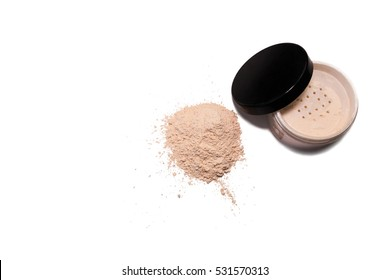 powder for a professional make-up. Also it is scattered by a row.