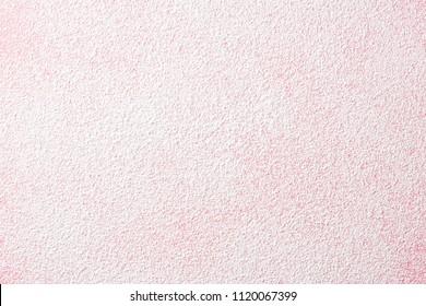 Powder sugar on pink background