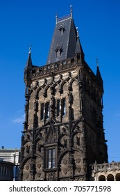 The Powder tower is a high Gothic tower in Prague, Czech Republic