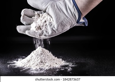 Powdered titanium dioxide is used to treat non-potable water. Functioning as a filter, preventing fouling and blocking the passage of any contaminants. Chemical material for industrial use